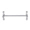 Creative Chopsticks Pen Holder Zinc Alloy Fork Stand for Holding Knife Fork Spoon Chopsticks Brush Pens