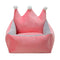 3 Colors Luxury Crown Crystal Velvet Pet Bed Kennel Dog Cat Warm Sofa Pet Bed