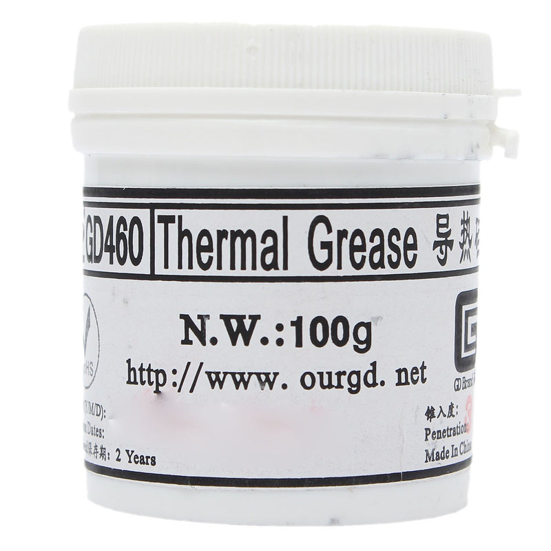 100g Compound Heatsink Thermal Paste Grease Canner Silicone For PC CPU Radiator Cooling