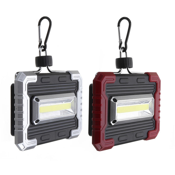 10W 150LM COB Solar USB Rechargeable LED Flood Light Outdoor Camping Lantern Work Lamp