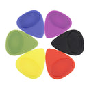 0.46/0.55/0.6mm Non-slip Matte Guitar Thumb Finger Picks With Case