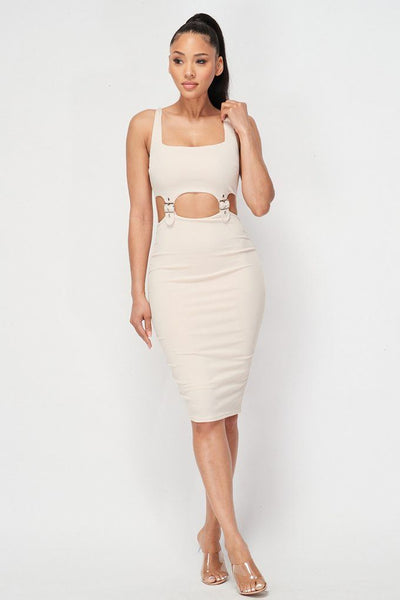 Cut-out Bodycon S-L
