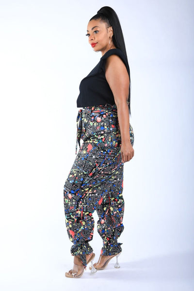 Front Page News Pants 1XL-3XL