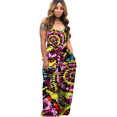 Bohemian Vibes Belted Dress Click for Colors! S-2XL