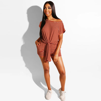 For the Knockout Striped Set S-5XL