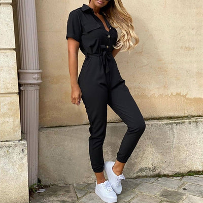 Sleek and Sassy Jumpsuit S-XL
