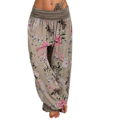 The OM Wide leg Yoga Pants. S-5XL