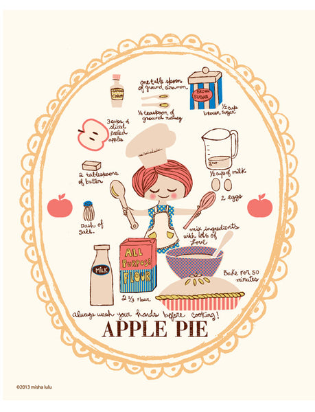 APPLE PIE print