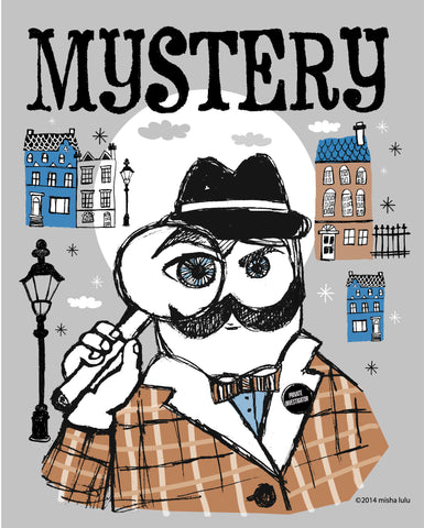 Mistery DETECTIVE print
