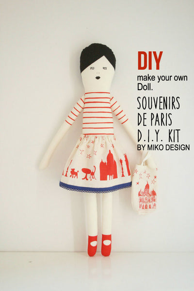 I love Paris doll DIY kit.