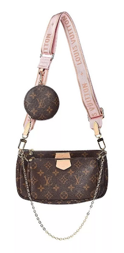 Bolsa LV Louis Vuitton Multi Pochette Monogram - Pronta Entrega