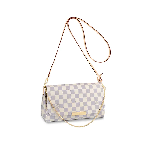 Bolsa LV Louis Vuitton FAVORITE MM Damier Azur - Pronta Entrega