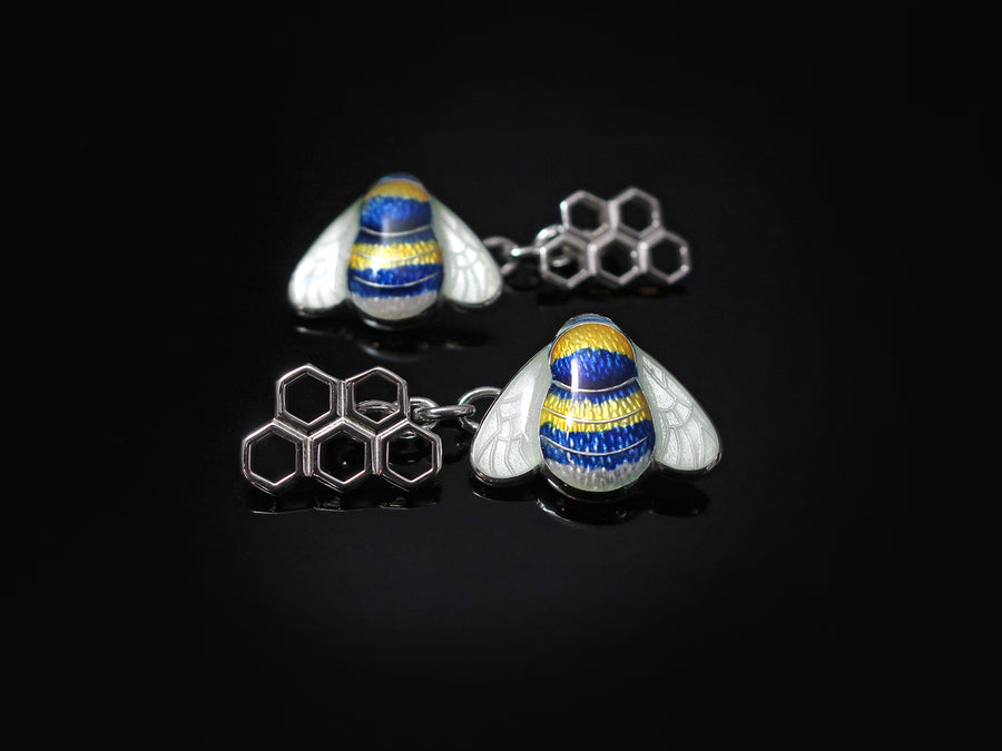 Bumble Bee Enamelled