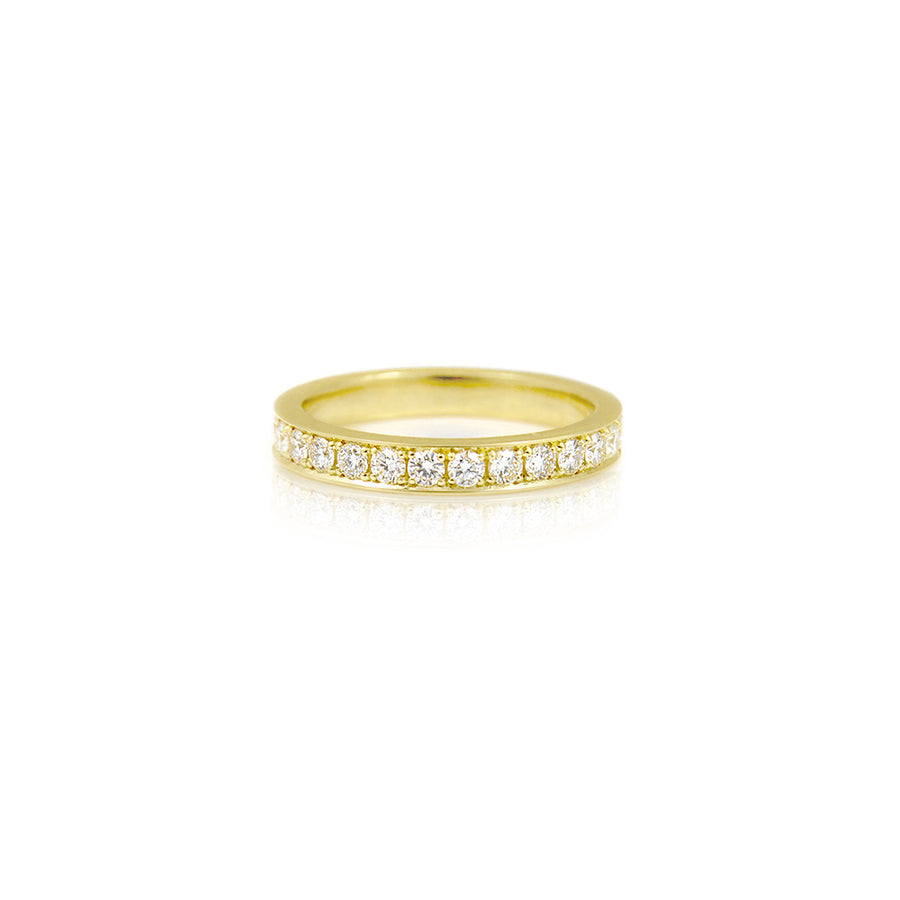Eternity Diamond 18ct Yellow Gold Ring