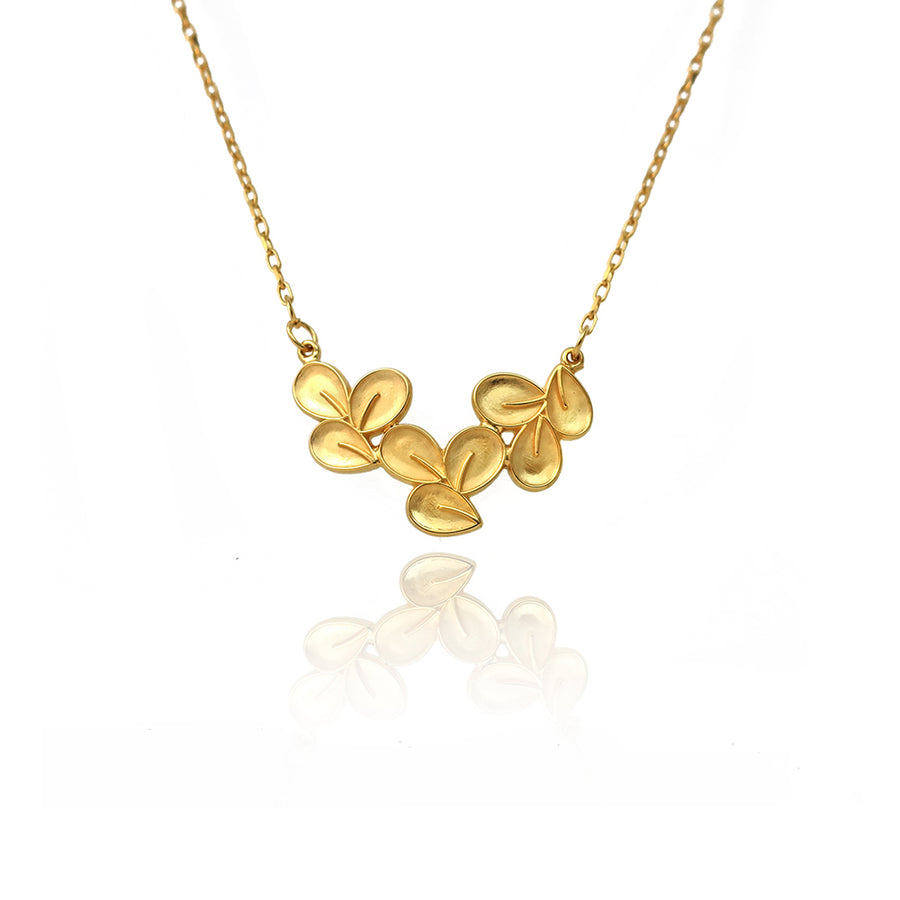Sakura Gold Necklace