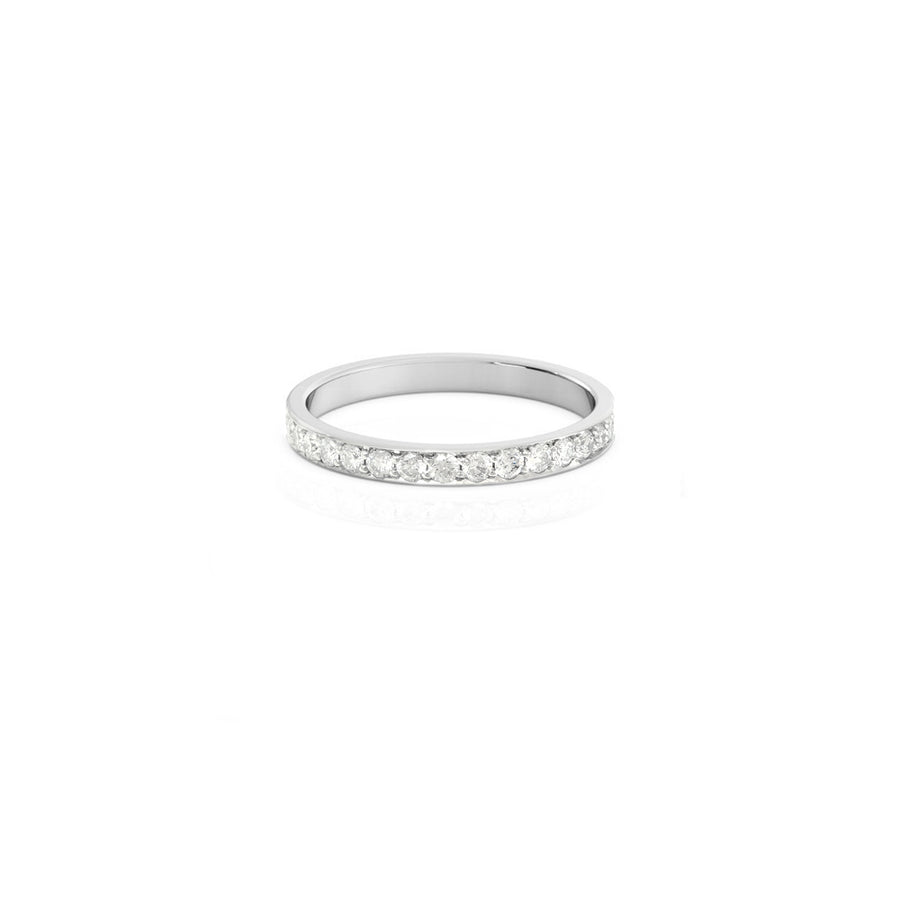Eternity Diamond Platinum Ring