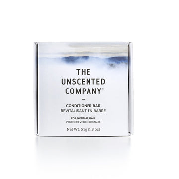 The Unscented Co. - Conditioner Bar, Normal Hair, Unscented