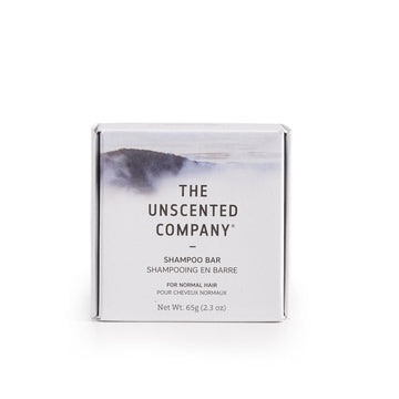 The Unscented Co. - Shampoo Bar, Normal Hair, Unscented
