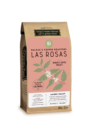 Balzac's Coffee Roasters - Colombian Las Rosas -Amber Roast