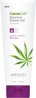 Andalou Naturals - CannaCell Shower Gel - Ritual