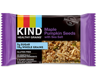 Kind - Healthy Grains, Chewy, Maple Pumpkin Seeds w/Sea Salt