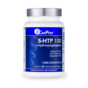CanPrev - 5-HTP 100 with B6 & Mag