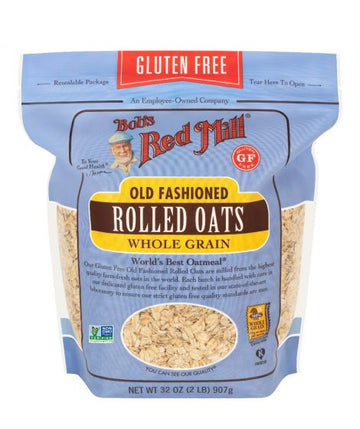 Bob's Red Mill - GF Oats, Rolled, Whole Grain