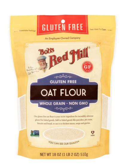 Bob's Red Mill - Oat Flour, Whole Grain (wheat free)