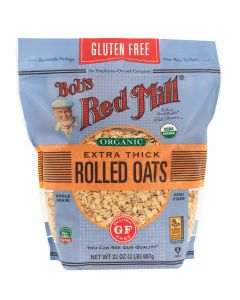 Bob's Red Mill - GF Oats, Rolled, Extra Thick, Whole Grain