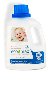 Eco-Max - Laundry Wash, Baby, 2X Concentrated, HE