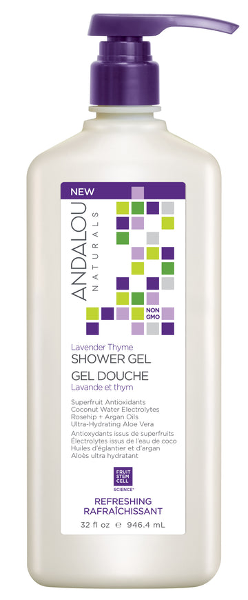 Andalou Naturals - Lavender Thyme Refreshing Shower Gel