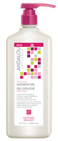 Andalou Naturals - 1000 Roses Soothing Shower Gel - Large