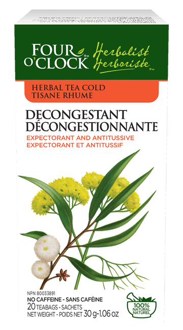 Four O'Clock - Decongestant Herbal Tea