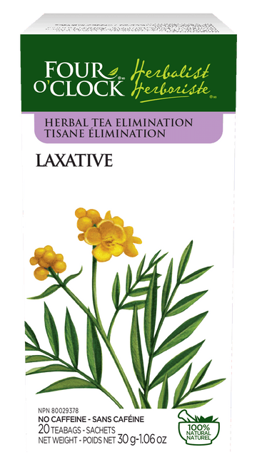 Four O'Clock - Laxative Herbal Tea