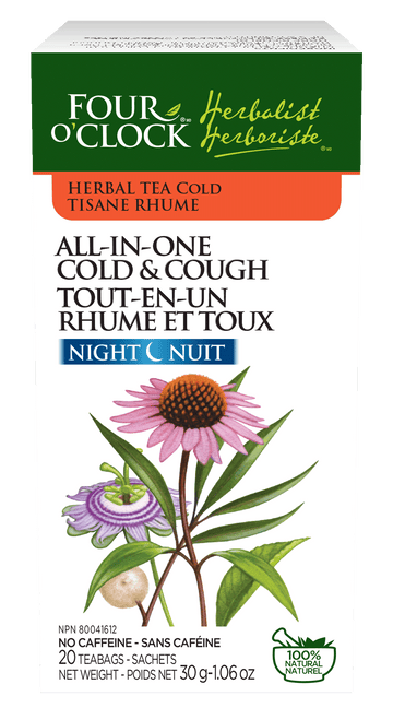Four O'Clock - All-in-one Cold & Cough Night