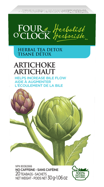 Four O'Clock - Artichoke Herbal Tea