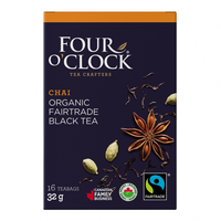 Four O'Clock Tea - Black Tea, Chai