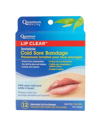 Quantum - Lip Clear Cold Sore Bandage