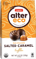 Alter Eco - Chocolate Truffles - Salted Caramel