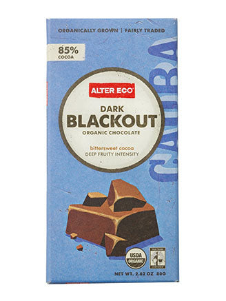 Alter Eco - Chocolate Bar - Dark Blackout