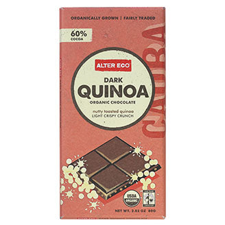 Alter Eco - Chocolate Bar - Dark Quinoa