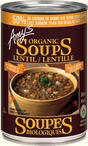 Amy's - Soup - Low Sodium Lentil