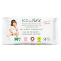 Eco By Naty - Baby Wipes, Sensitive w/Aloe, Hypoallergenic, Fragrance Free (plastic free)