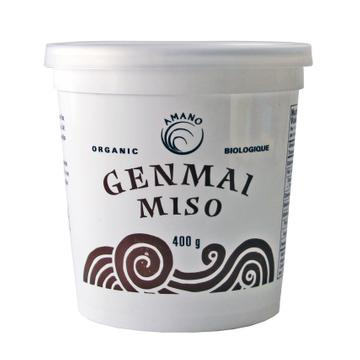 Amano Foods - Miso, Gen-Mai, Brown Rice, Organic