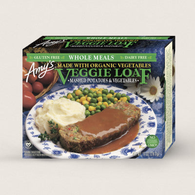 Amy's - Whole Meal, Veggie Loaf w/Potatoes & Vegetables