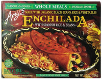 Amy's - Whole Meal, Black Bean Enchilada w/Spanish Rice