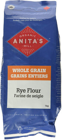 Anita's Organic - Rye Flour, Fresh Ground