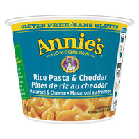 Annie's Homegrown - Microwavable Cup, Rice Macaroni & Cheddar