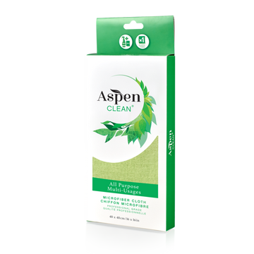 AspenClean - Microfibre Cloth, All Purpose, Professional Grade