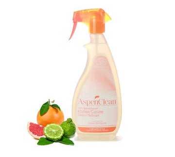 AspenClean - Kitchen Cleaner Spray, Bergamot & Grapefruit